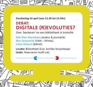 icoon - debat digitale (r)evoluties